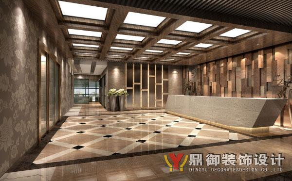 国企3000平米大型办公室装修_办公室装修-广州鼎御装饰