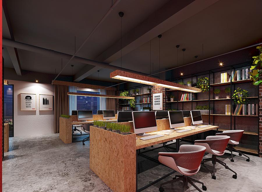 话不多说,8张办公室装修效果图,看了就懂了.