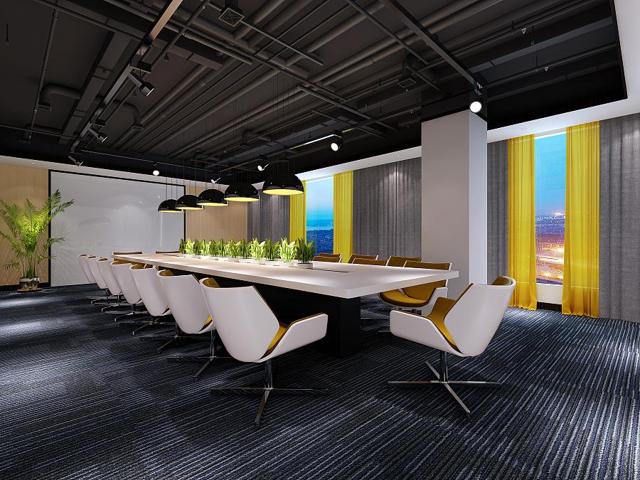 延伸阅读,大量办公室效果图: 广州办公室装修