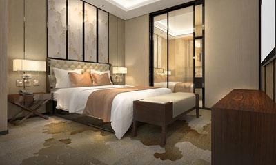 广州华金盾大酒店客房改造工程