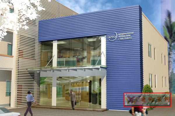 小型办公楼装修设计 鼎御装饰,广州装修公司 -写字楼装修