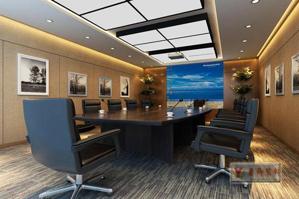 外贸公司办公室装修设计 鼎御装饰,广州装修公司