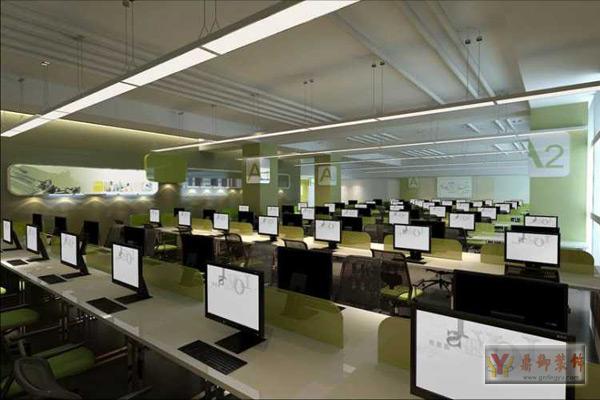 游戏公司办公室装修设计 鼎御装饰,广州装修公司