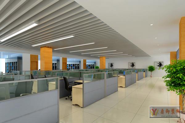广州大型办公室装修图-鼎御装饰