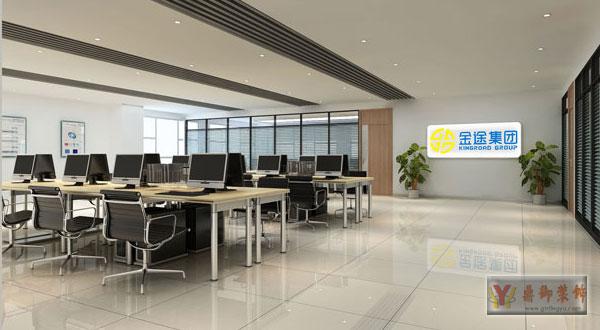 萝岗区小型公司办公室装修-鼎御装饰