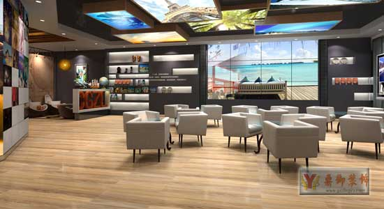 店面装修 -广之旅形象店装修设计 鼎御装饰,广州装修公司