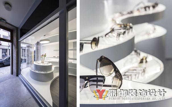 现代时尚眼镜店装修设计 鼎御装饰,广州装修公司