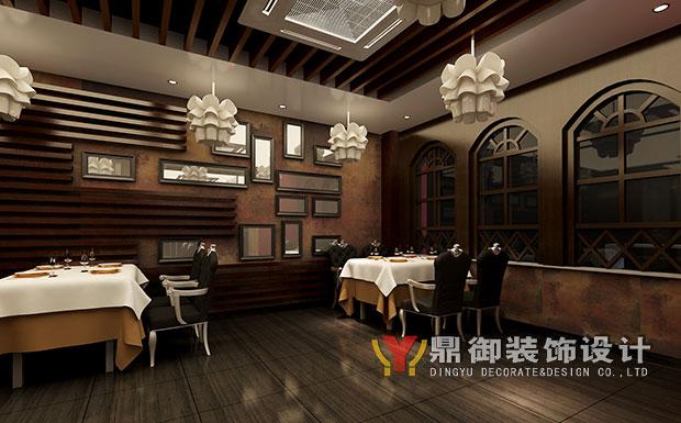 鼎御承接东南亚风格西餐厅装修工程