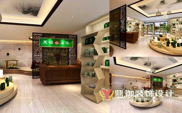 天福茗茶专卖店装修