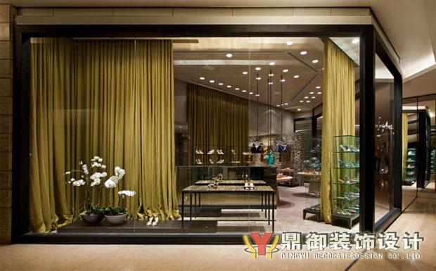 奢饰品牌 高档鞋店装修 鼎御装饰,广州装修公司