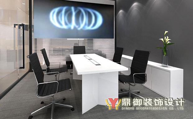 展厅内部办公室设计效果图 鼎御装饰,广州装修公司