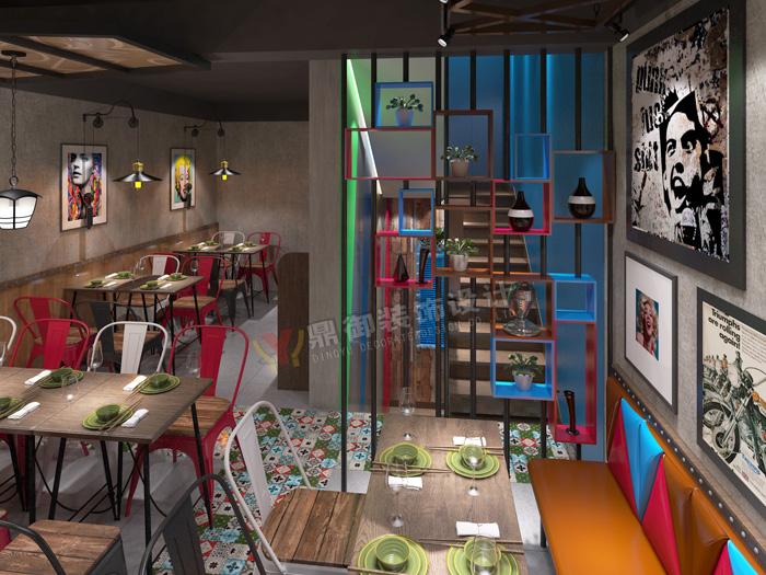 连锁餐饮店设计