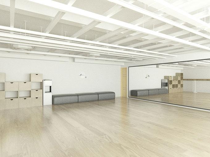 NP舞蹈培训中心办公室装修