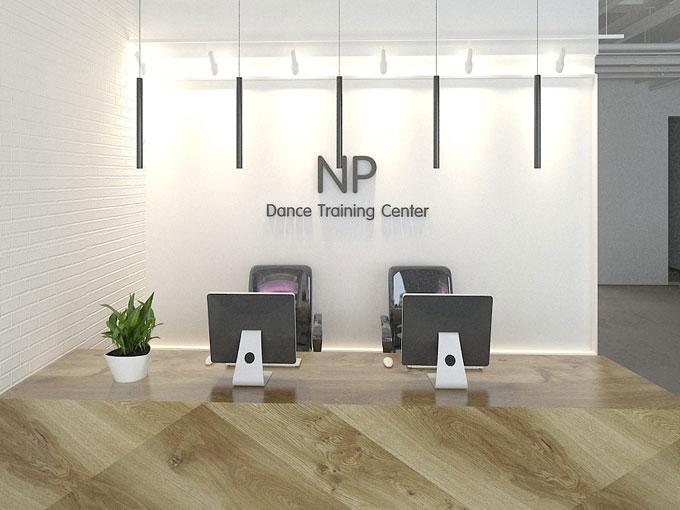 NP舞蹈培训中心室内设计