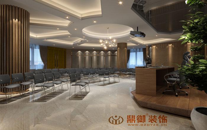 广州金颖大厦6F多功能会议室装修